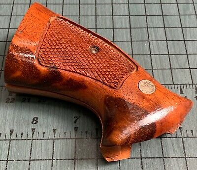 SMITH & WESSON Original Factory PRESENTATION Wood Grips K