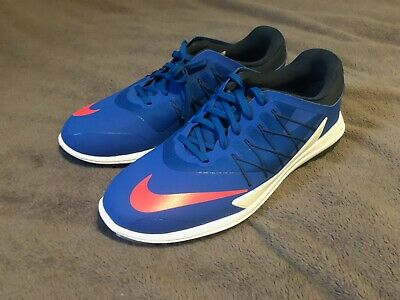 4e95bb967083 NIKE LUNAR CONTROL Vapor Golf Shoes Blue Jay Solar Red White Size 8.5  849971-401