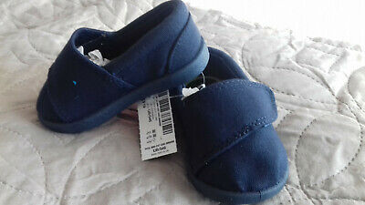 Bnwt Next Baby Boys Navy Blue Shoes Size 3