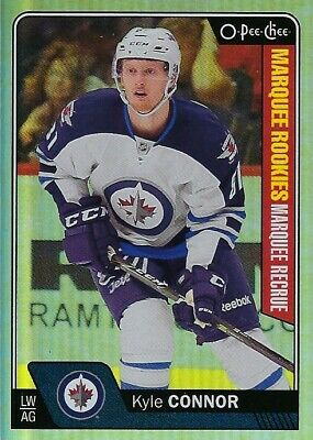 2016-17 O-Pee-Chee Marquee Rookies Platinum - Kyle Connor Rc #676