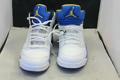 newest 02cea 74f1f Nike Air Jordan 5 Retro Laney White 136027 189 Size 10.5