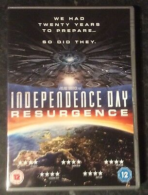 Independence Day Resurgence Dvd Good As New Mint Condition Free Post