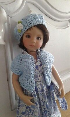 For 13 dianna effner little darling ooak handknit set
