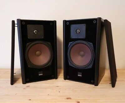 Vintage MB Quart 280 Bookshelf Speakers - Tested/Working - 4 ohm, Cabinets Rough