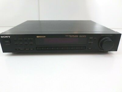 SONY ST-S505ES FM STEREO/FM-AM tuner AUDIOPHILE QUALITY