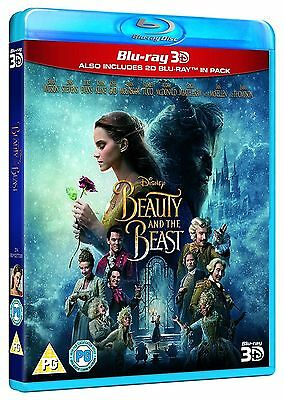 Beauty and the Beast 3D (Blu-ray 3D/2D) DISNEY *BRAND NEW*