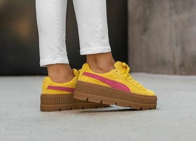 dd8b4edbc21 PUMA FENTY BY RIHANNA Suede Cleated Creeper
