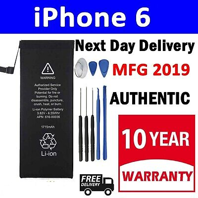 Genuine Replacement Battery for iPhone 6 6G 1810mAh Full Capacity Free Tools