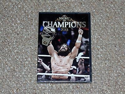 WWE: Night of Champions 2013 DVD 2013 Brand New Canadian