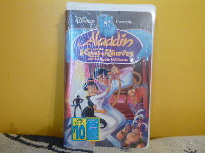 Aladdin and the King of Thieves VHS Tape 1996 New Disney Movie