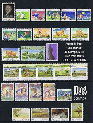 Australia Post Year Collection 1989 (44 stamps) MNH *HIGH QUALITY*SPECIAL PRICE*