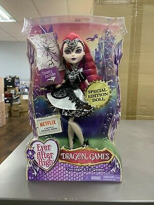 Ever After High Dragon Games Teenage Evil Queen Doll Special Edition  NEW