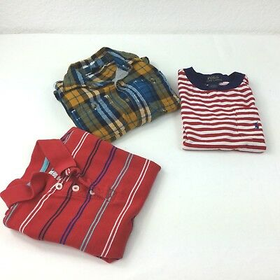 LOT of 3 Boy 4T T-Shirt Polo/Gap/Old Navy Boy Size 4