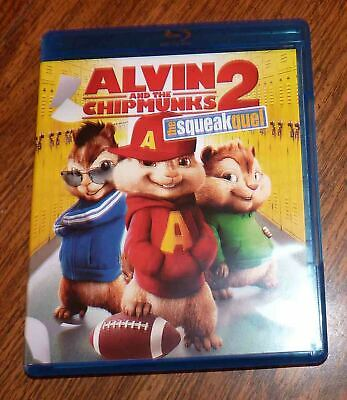Alvin and The Chipmunks 2: The Squeakquel Blu-ray Blu Ray (2009) Fox DTS - Nice!