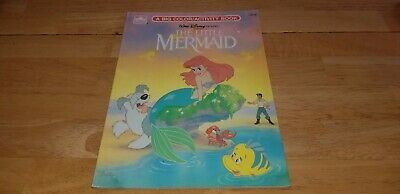 Vintage Walt Disney's The Little Mermaid Golden Big Coloring/Actvity Book 1989