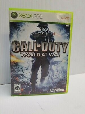 Call of Duty: World at War (Microsoft Xbox 360, 2008) FAST SHIP