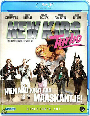 New Kids Turbo NEW Cult Blu-Ray Disc Steffen Haars Huub Smit Tim Haars Dutch