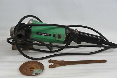 Hitachi G13SC 125mm Angle Grinder with Key and Some Discs - 240V Corded 1000W