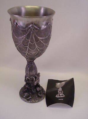 Royal Selangor Pewter Goblet - SHELOB - Lord of the Rings LOTR G. Anthony 1996