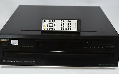 Onkyo DX-C390 6 Disc Carousel CD Player Componenet & Remote