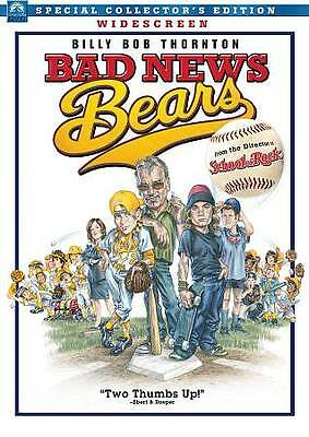 Bad News Bears (DVD, 2013) - BRAND NEW FACTORY SEALED