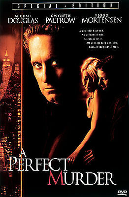 TRIPLE FEATURE DVD: A Perfect Murder, Murder by Numbers, Murder In the First, R
