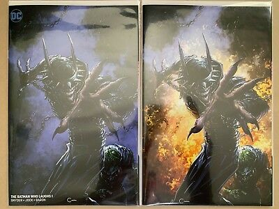 Batman Who Laughs #1 CLAYTON CRAIN Virgin Variant Covers B & C NM