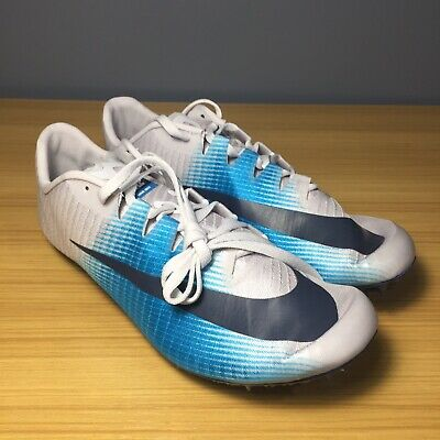 30fd6a2c0202 Nike Zoom JA Fly 3 Track Spikes Vast Grey Thunder Blue Men s 865633-004