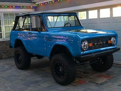 1974 Ford Bronco  1974 Ford Bronco Restomod  Coyote 4r70w Brand New Build Just Finished