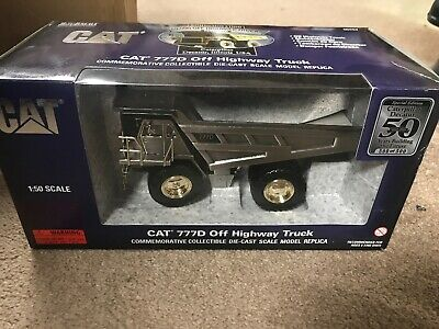 Caterpillar 777D Off Highway Truck Silver Commemorative Decatur Edition 1 Of 500