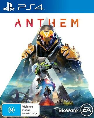 Anthem PlayStation 4 PS4 Brand New Game