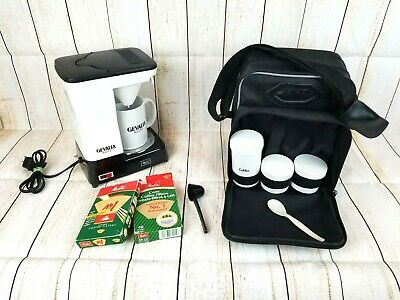 New Melitta Portable Personal Coffee Maker Travel Kit With Case