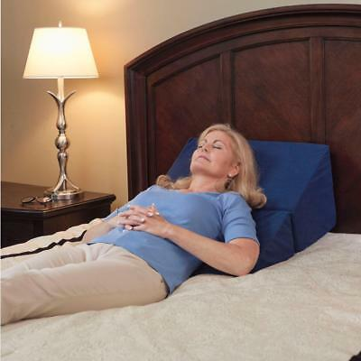 Drive Medical Folding Memory Foam Pillow Bed Wedge 10 Inch Relieve Pain Sleeping