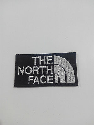 Parche bordado para Pegar estilo The North face 7,5/4 cm adorno ropa