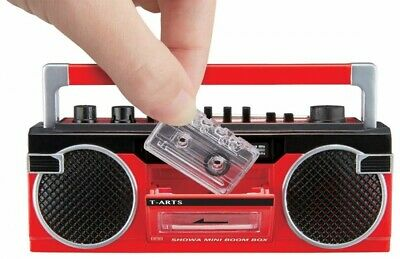 PSL Takara Tomy A.r.t.s Showa Mini Radio Cassette Recorder With Tracking