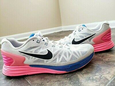 save off ccc90 61153 NIKE LUNARGLIDE 6 Running Trainers Running Shoes Hyper Pink 654434-101 Sz 11