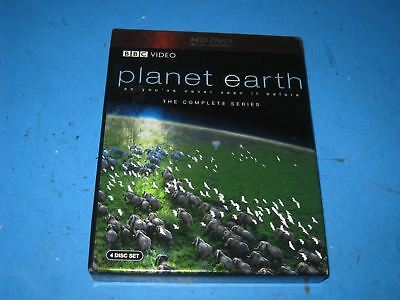 Planet Earth  Complete Series (HD DVD, 2007, 4-Disc Set)   5R3