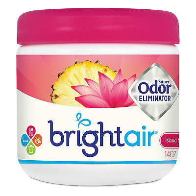 BRIGHT Air 900114CT Super Odor Eliminator, Island Nectar and Pineapple, Pink, of