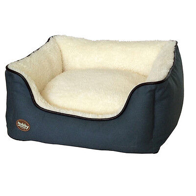 Nobby Dog Bed Rectangular Salio Grey, Various Sizes,