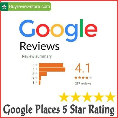 20 x 5 Star Google Reviews For Local Business 5 STAR Google Review For SEO SAFE
