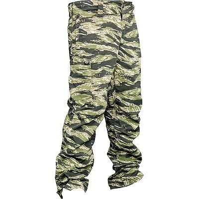 New Valken Paintball VTac V-Tac KILO Playing Pants - Tiger Stripe - Large L