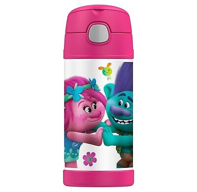 NEW Thermos FUNtainer Trolls Water Bottle  - 12 OZ