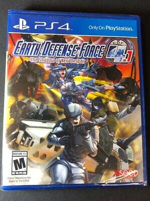 Earth Defense Force 4.1 [ The Shadow of New Despair ] (PS4) NEW