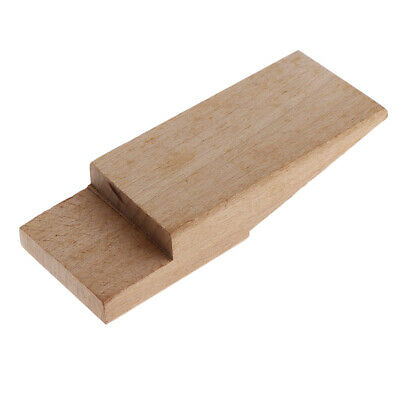 Hardwood Bench Pin With Round Pin Bench Block For Jewelry Making 5.1x1.9inch