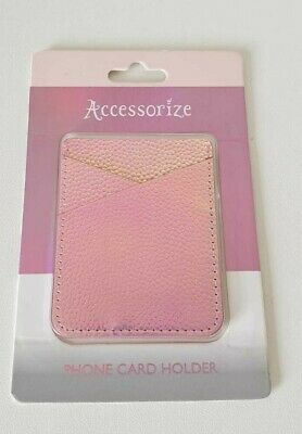 Ladies Monsoon Accessorize Pink Phone Case Card Slot Holder iPhone Unique Gift