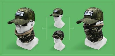 Camouflage Baseball Cap with Neck Warmers HipHop Snapback Hats for Men Baseball