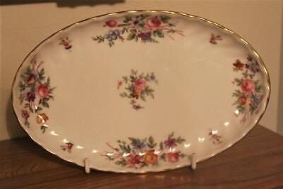 A Minton Large Oval Trinket Tray In The Marlow Pattern Excellent Condition