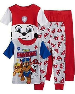 bc910871d BOYS 4T PAW Patrol Chase Marshall Rubble Footed Pj Pajamas Blanket ...