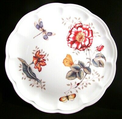 "Lenox #6083521 BUTTERFLY MEADOW ""Dragonfly"" Dinner Plate NEW w/Sticker"