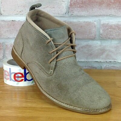 e0b1dcda4f9 Cole Haan Chukka Boots Lunargrand Brown Suede Mens Size 10 Casual Lace Up  Shoes
